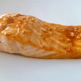 Baked Maple Salmon