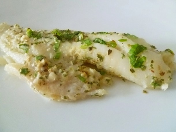 Cod au Lait -- Want to make a healthy fish? Cooked in milk, this white fish and healthy and delicious. | thishappymommy.com