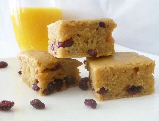 Orange Cranberry Bars