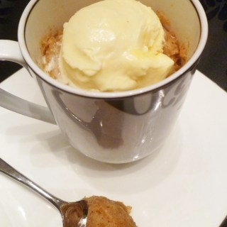 Apple Pie Spiced Mug Cake