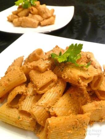 Creamy Sun Dried Tomato Pesto Pasta