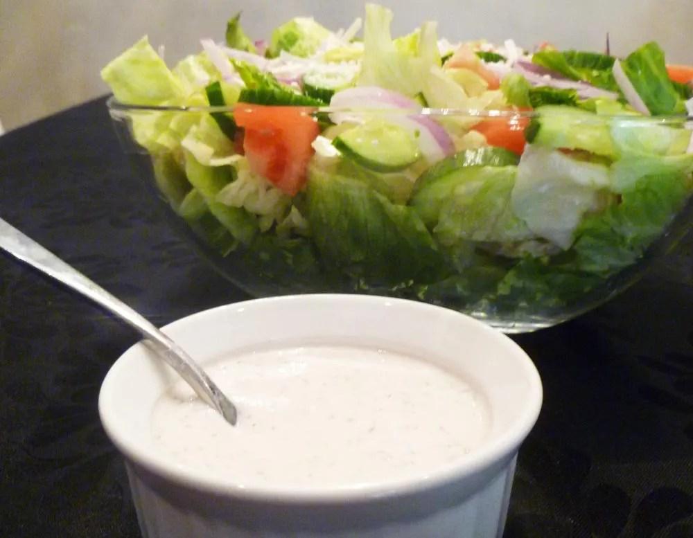 Creamy Greek Dressing Yogurt