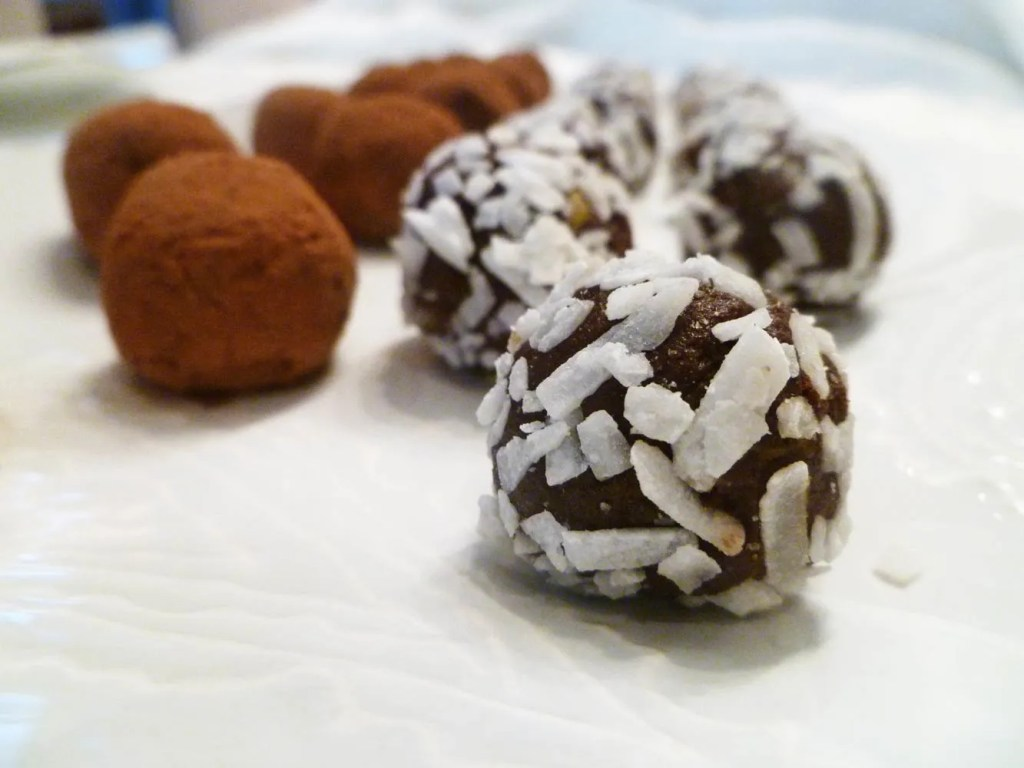Avocado Chocolate Truffles