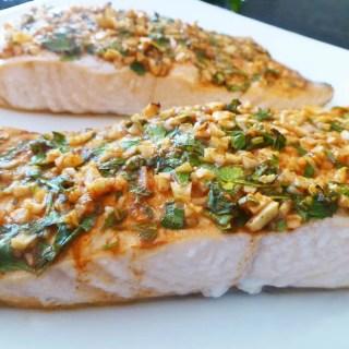 Lemon Herb Crusted Salmon
