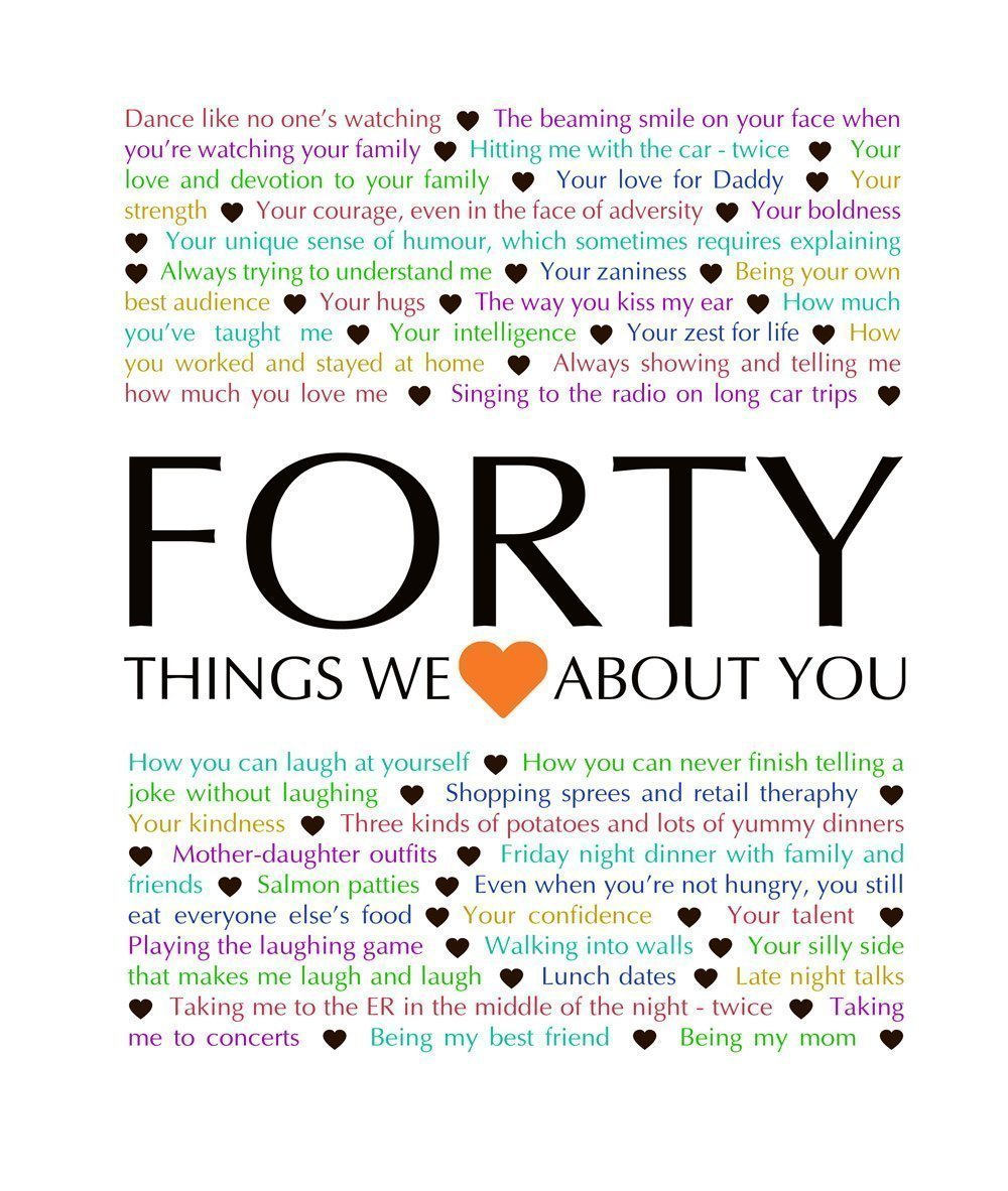 40 Things We {Love} About You – Download | This Happy Mommy