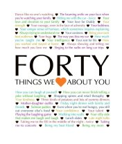 40 Things We Love About You - Download