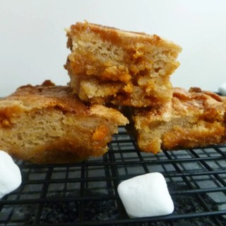 Butterscotch Marshmallow Blondies