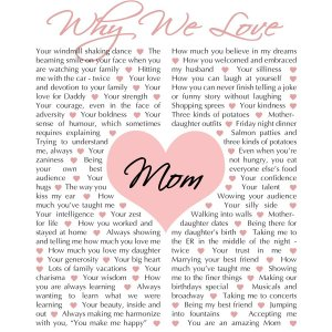 Why We Love Mom