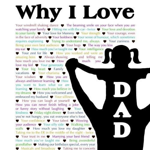 Why I Love Dad - Daughter