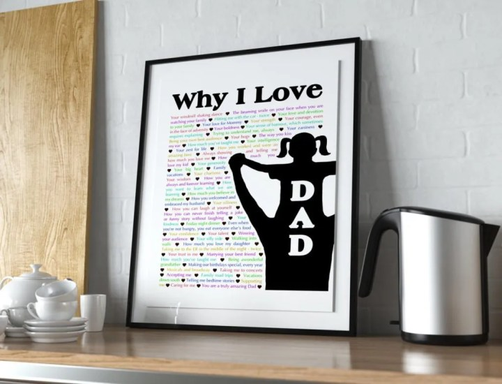 Why I Love Dad - With one special day to celebrate Dad, tell him all the reasons that you love him.   thishappymommy.com