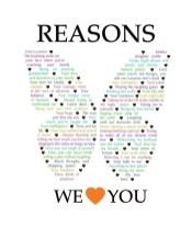 Reasons We {Love} You