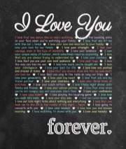 I Love You - Forever