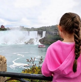 For our first getaway as a family of four, we decided to go somewhere beautiful, romantic, and family friendly. So, we went on a Niagara Falls family vacation.
