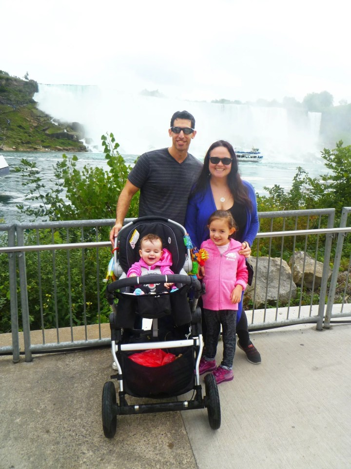 Niagara Falls Family Vacation -- Niagara Falls, it is truly a sight to see. With rolling water, a misty spray, and three different falls on the Canadian and US side, Niagara Falls is truly beautiful. People from all over the world flock to the falls for fun, romantic, and family-friendly vacations. For our first getaway as a family of four, we decided to go somewhere beautiful, romantic,and family friendly. So, we went on a Niagara Falls family vacation. #vacation #getaway #niagarafalls #familyvacation #familyholiday | thishappymommy.com