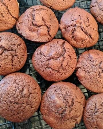 Hazelnut Brownie Bites