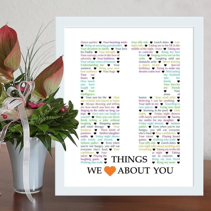 Things We Love About You - Cross Edition - best DIY gift for spiritual person - Faith birthday gift - Christmas gift - Mother's Day - Father's Day   thishappymommy.com