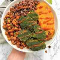 Chili Lime Chickpea Buddha Bowl [V+GF+Oil Free]