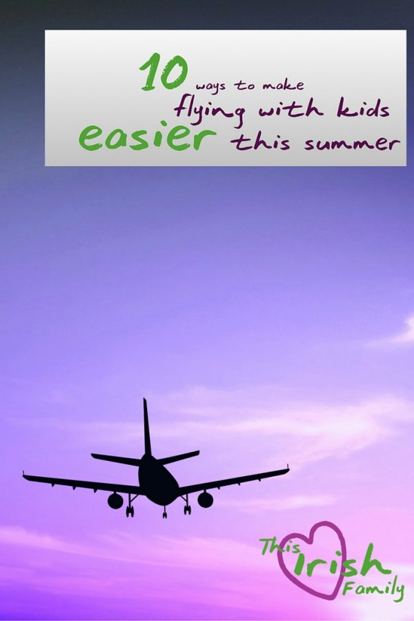 Want to make flying with the kids easier this summer? Check out these 10 tips for flying with children.