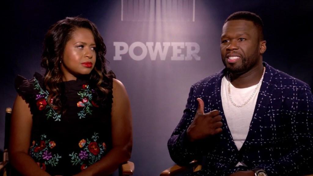 50 Cent & Courtney Kemp Speak on Season 4 of Power! – Kanan VS Ghost??