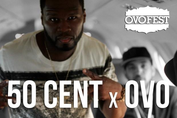 50 Cent @ Drake's OVO Fest 2014