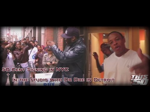 50 Cent Signing In NYC + Studio with Dr Dre & Eminem | 50 Cent Music