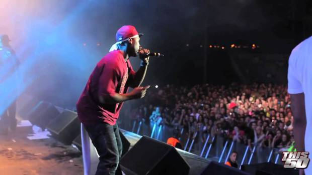 50 Cent x G-Unit In Ireland | Live Performance | 50 Cent Music