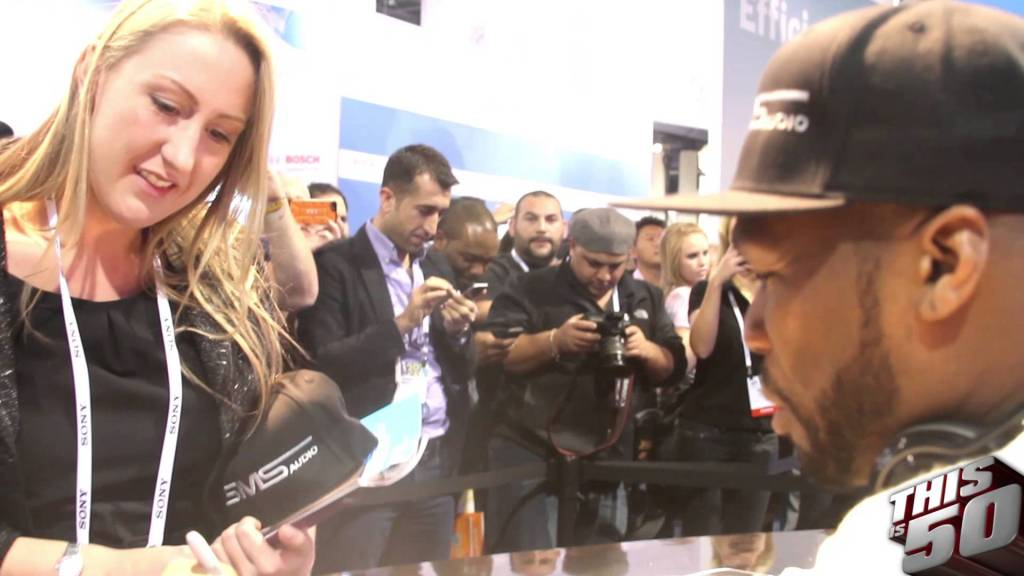 50 Cent x SMS Audio in Vegas For CES 2014