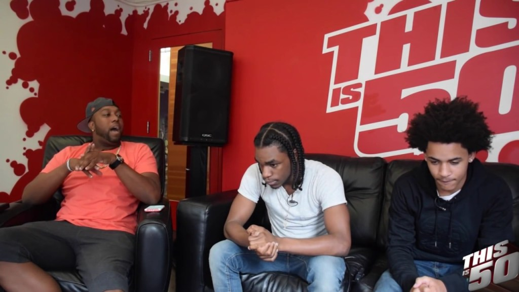 Curly Savv & Dah Dah on 50 Cent Co-Sign; Being Famous In High School; Millions of Views W Pvnch