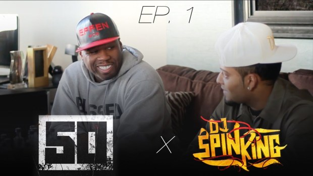 DJ SpinKing Behind The Scenes with 50 Cent