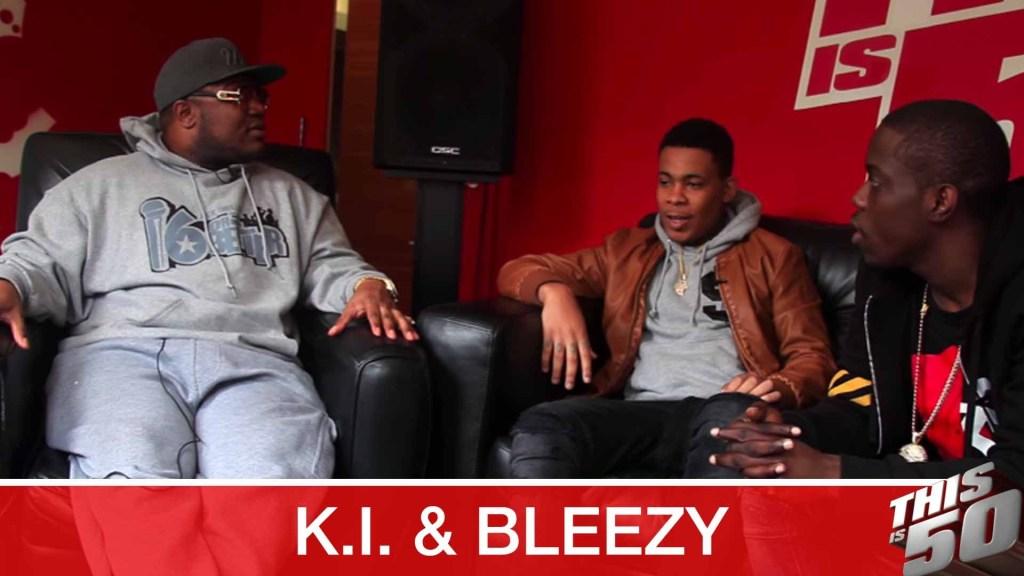 K.I. & Bleezy on D.O.D.; Starring in Money & Violence; New Crack City; Freestyle