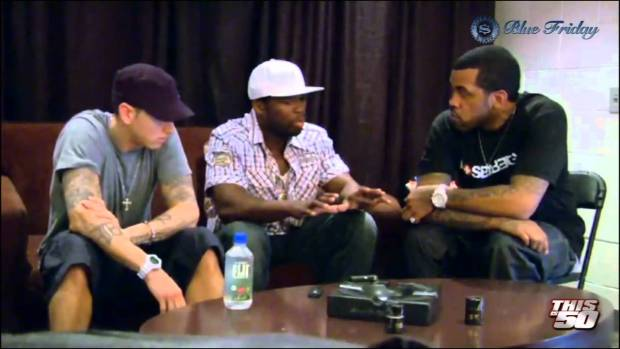 Lloyd Banks Didn't Want Eminem on HFM2? – Prank By Eminem &  50 Cent