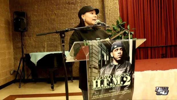 Lloyd Banks Teams Up With The G-Unity Foundation To Give Back To The Community