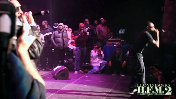 Lloyd Banks x Fabolous x Juelz Santana – Start It Up + Beamer, Benz, or Bentley Live