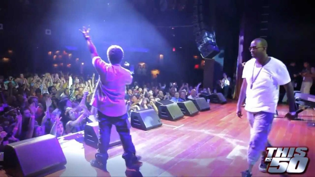 "Mann x 50 Cent Perform ""Buzzin"" At The House Of Blues In Atlantic City"