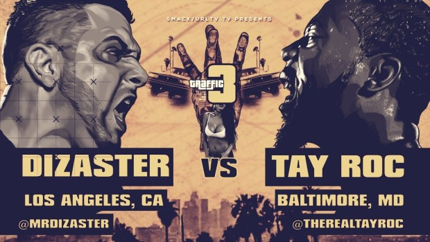 Tay Roc VS Dizaster