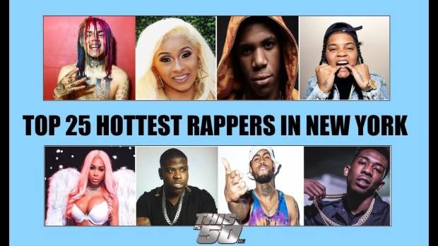 TOP 25 HOTTEST RAPPERS in New York, Cardi B ? A Boogie ? 6ix9ine ? Jay Critch ? Young MA ?