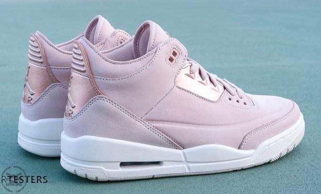 d42d256e41945a Sneakers. Air Jordan 3 Retro SE  Rose Gold