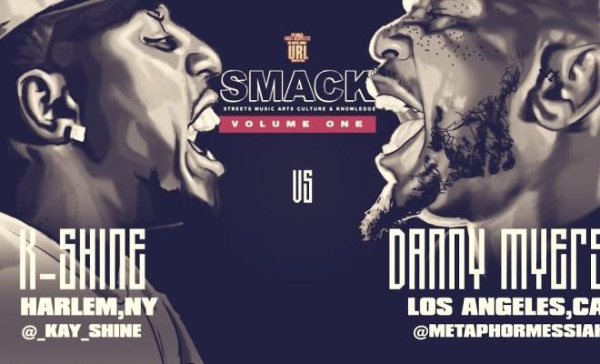 K-Shine VS Danny Myers SMACK/ URL RAP BATTLE