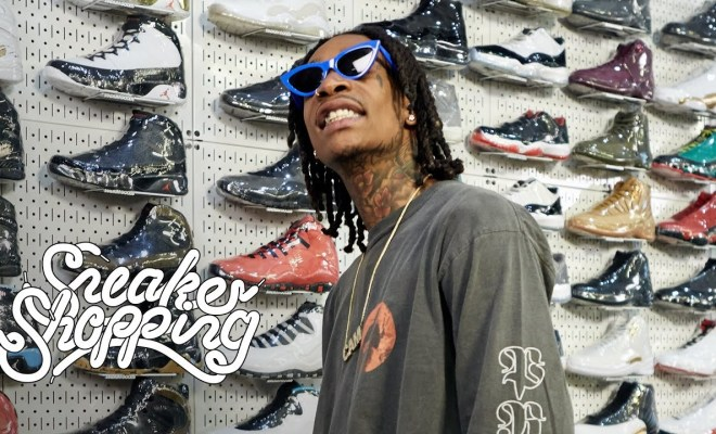 de967fdf8576f6 Wiz Khalifa Goes Sneaker Shopping With Complex