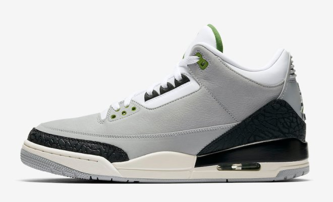 "52a74d48b5e The Air Jordan 3 Tinker ""Chlorophyll"" is coming November 10th"