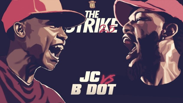 JC VS B Dot SMACK Rap Battle | URLTV