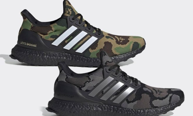 "Bape x adidas Ultra Boost ""Camo Pack"" Official Images 21c6fbead48e"