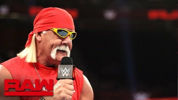 "Hulk Hogan pays tribute to ""Mean"" Gene Okerlund on WWE Raw"