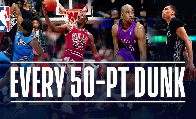 Every 50-Point Dunk In NBA Dunk Contest History! 2ab6305efc