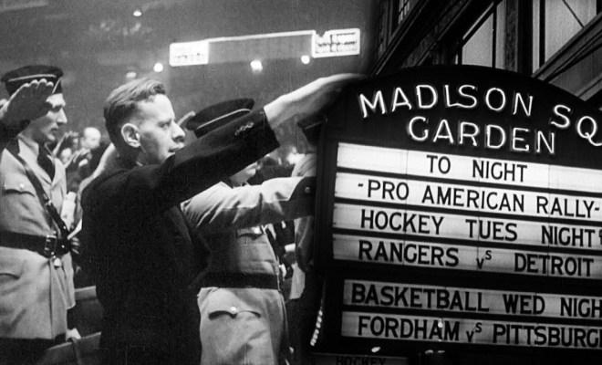 Oscar nominated film shows nazi rally at madison square garden - Madison square garden nazi rally ...
