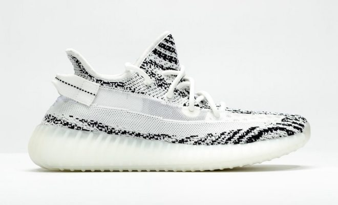 "232d15f13ba2d First Look  adidas Yeezy Boost 350 V2 ""Zebra"" sample"
