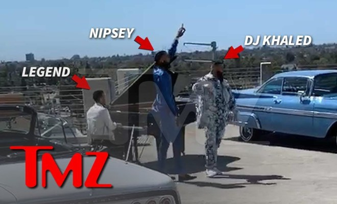 First Look at Nipsey Hussle's Last Music Video with DJ Khaled, John