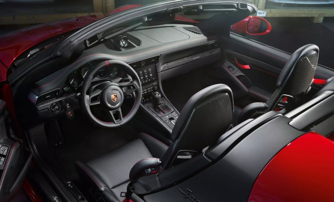 Gallery The All New 275k Porsche 911 Speedster Enters Production