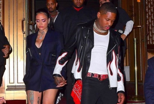 Kehlani and YG confirm relationship at New York Fashion Week