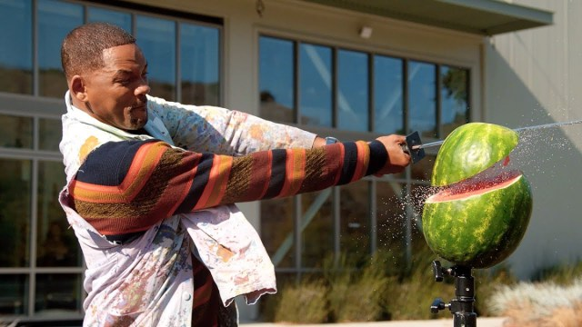 Will Smith Visits YouTube Studios in LA for the First Time!